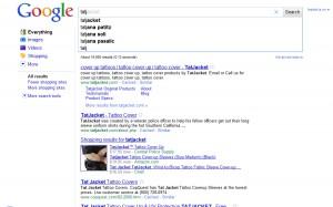 Google Instant: pretraga Tatj