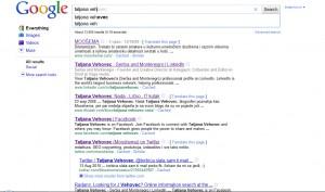 Google Instant: tatjana veh